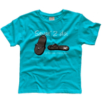 Savat-enfant-turquoise-face