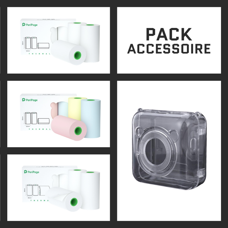 PERIPAGE® Pack Accessoire