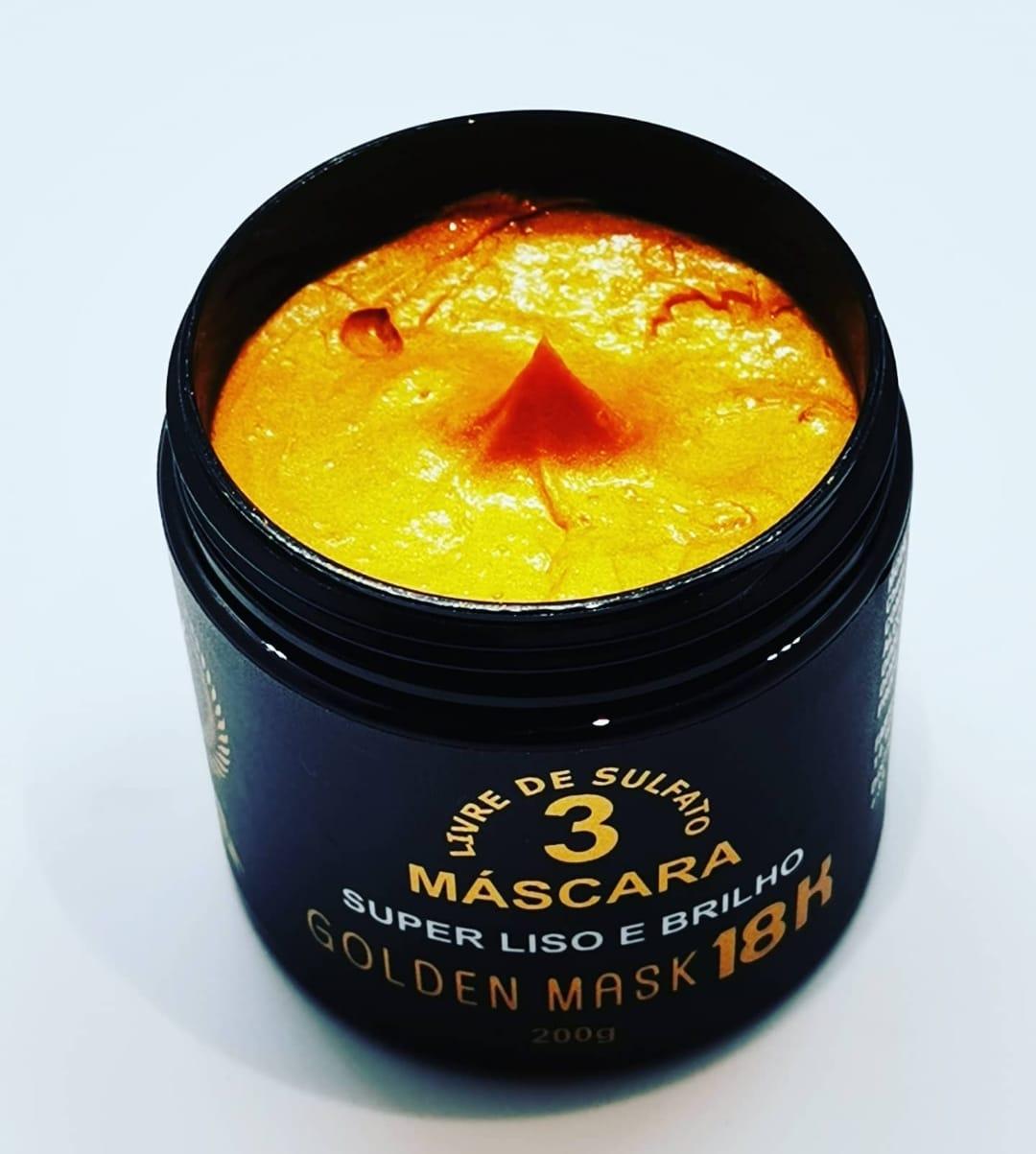 Masque Golden 18K