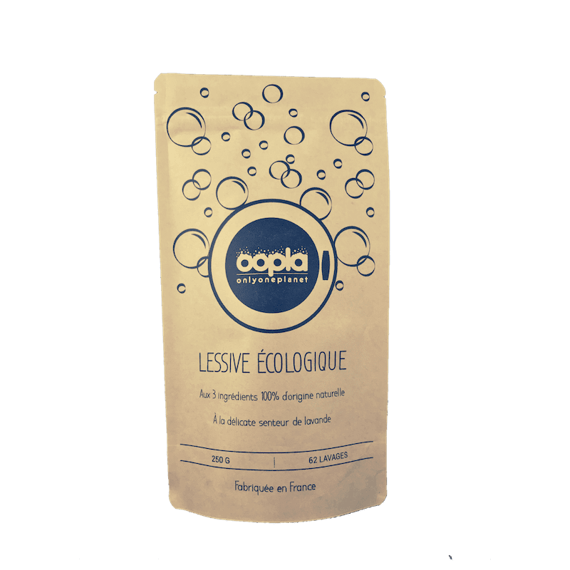 Lessive écologique en poudre 100% naturelle Made in France