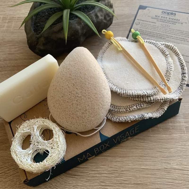 Kit produits beauté zéro déchet et écologique