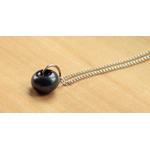 collier petite perle noir 1