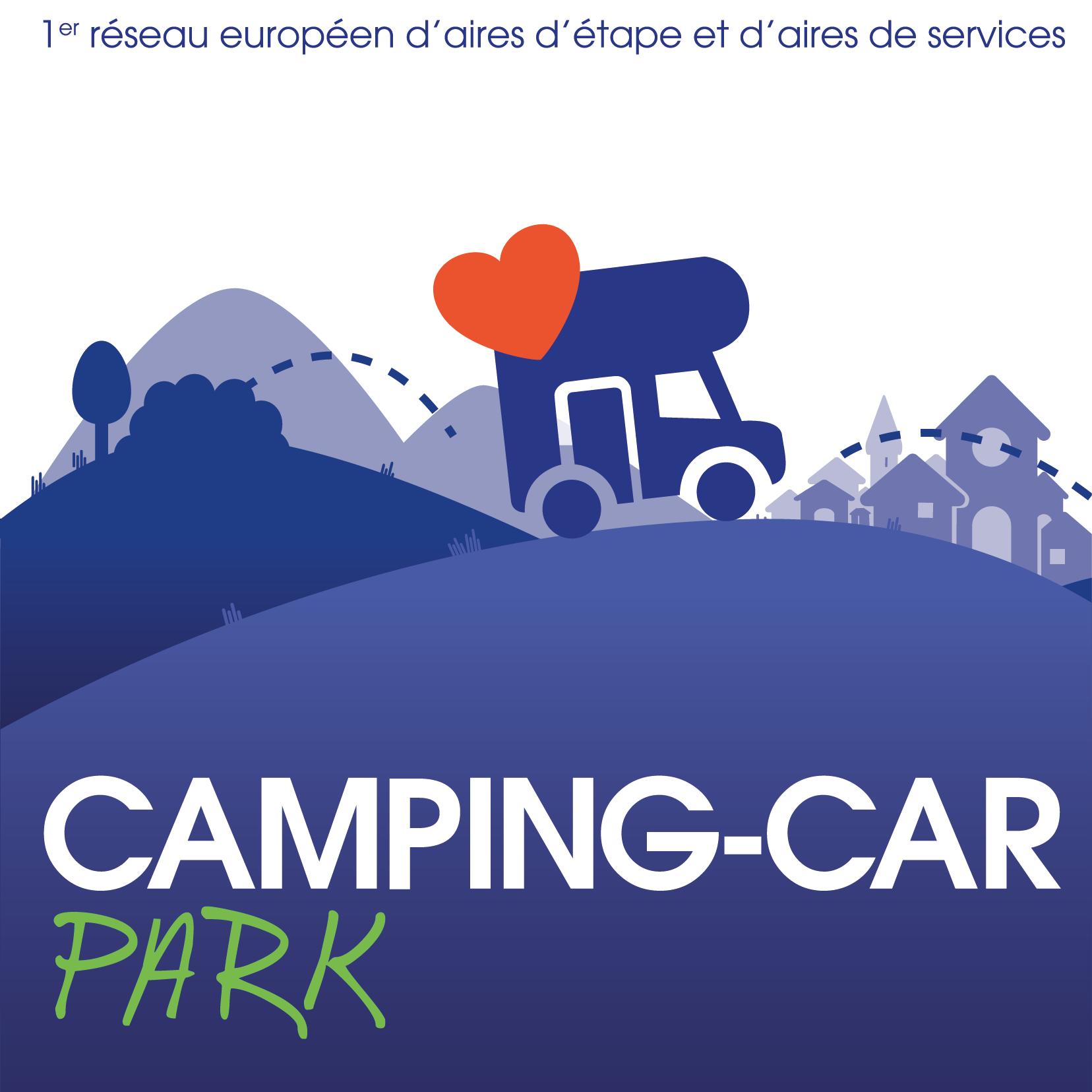 Autocollant CAMPING-CAR PARK