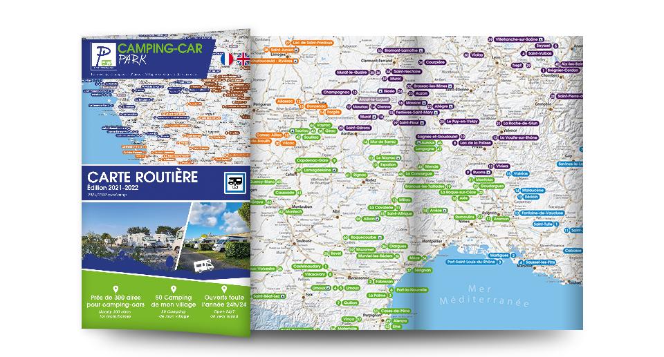 Carte Routière des Aires   Edition 2021-2022