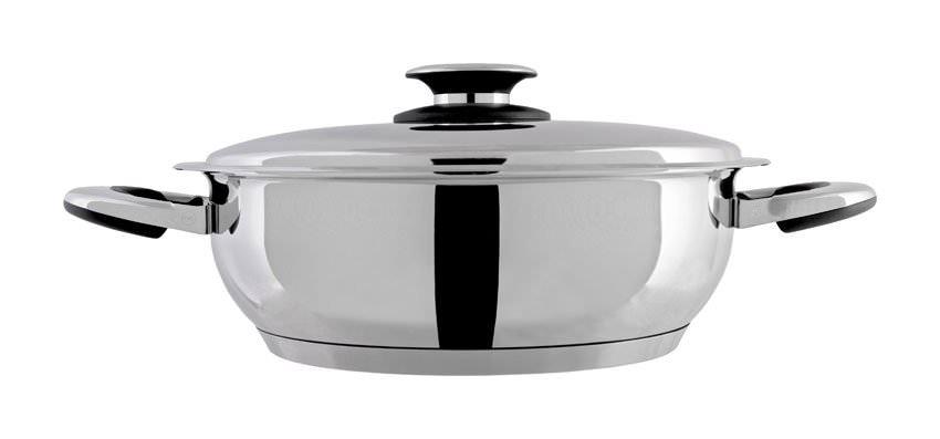 Sauteuse inox 18/10 28 cm - 5 litres
