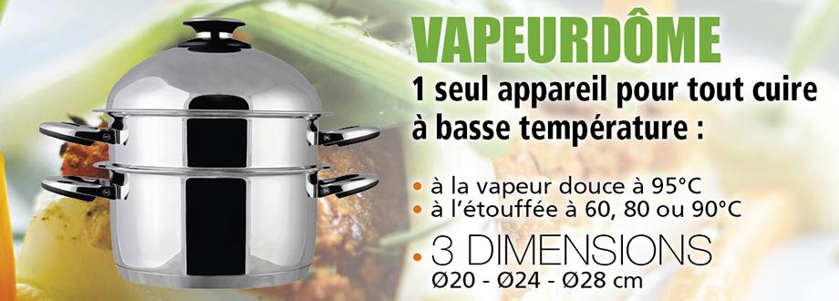 Voir les cuit-vapeurs basse température