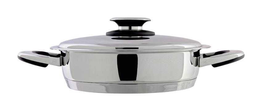 Sauteuse inox 18/10 24 cm - 2,7 litres