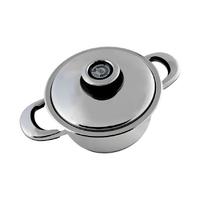 Sauteuse inox 18/10 20 cm - 2,5 litres pour 1 à 2 personnes
