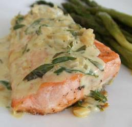 saumon-estragon