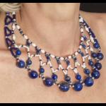 Collier Lapis Lazuli et Perles de rocaille
