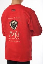MAKI MANCHES LONGUES ENFANT ROUGE