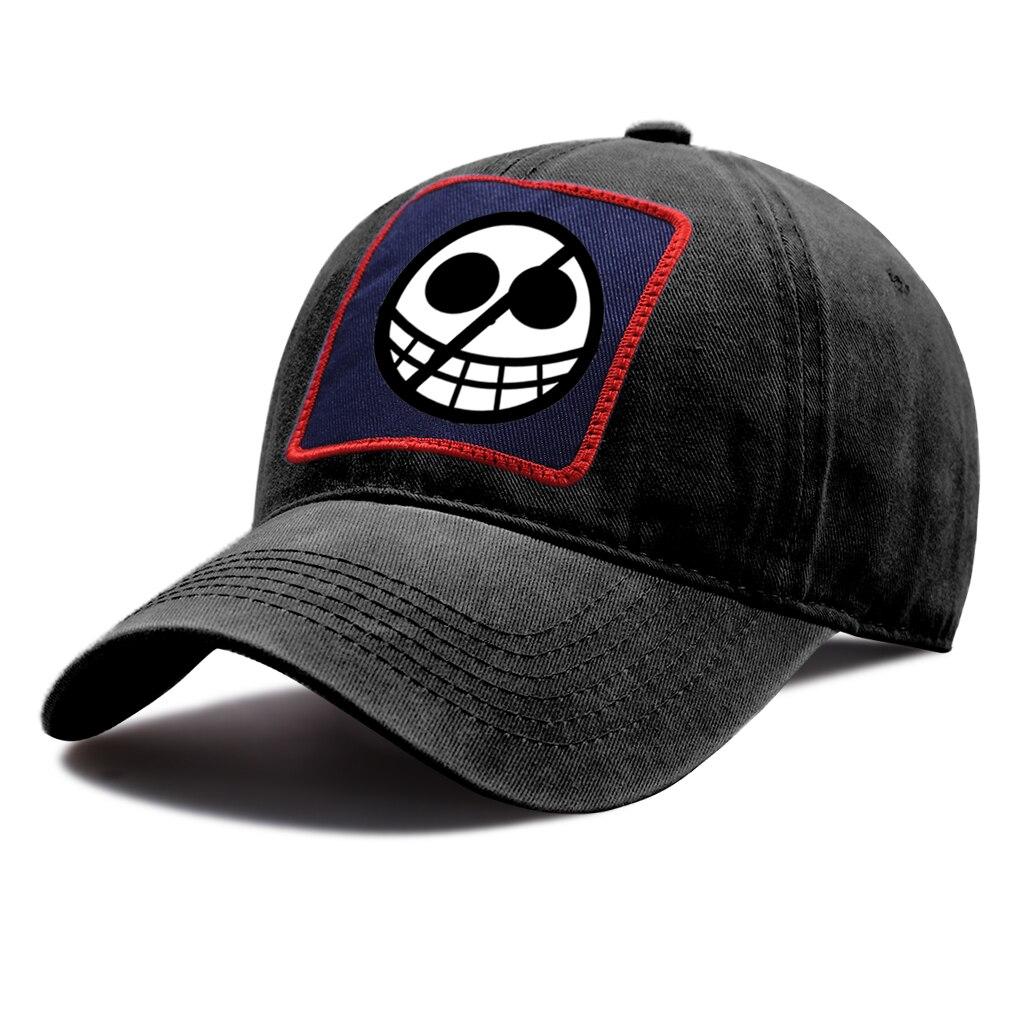 casquette one piece logo doflamingo noire