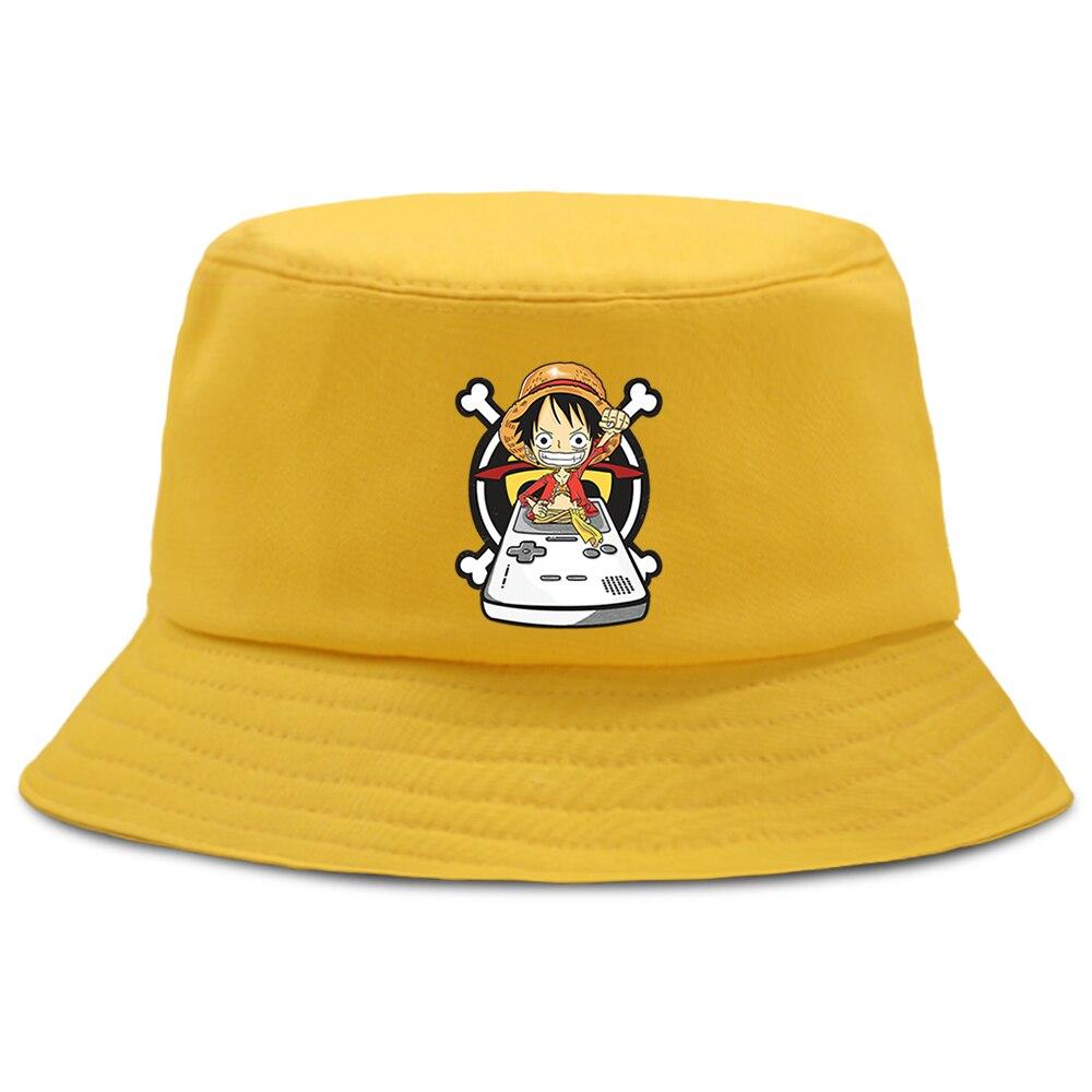bob one piece luffy gameboy jaune