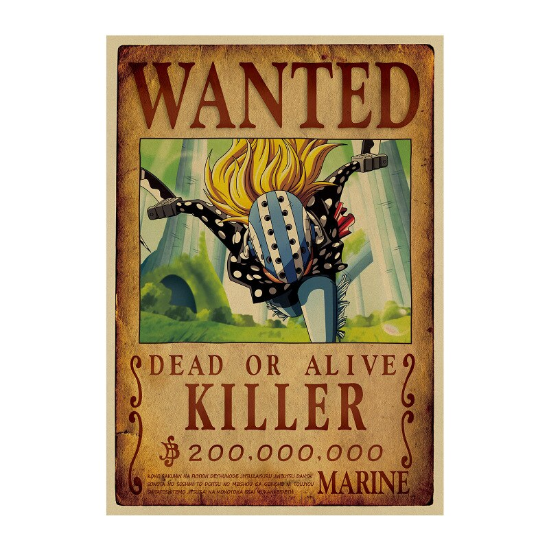 Affiche Wanted One Piece Killer