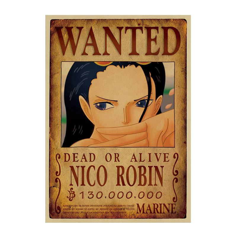 Affiche Wanted One Piece Nico Robin 2