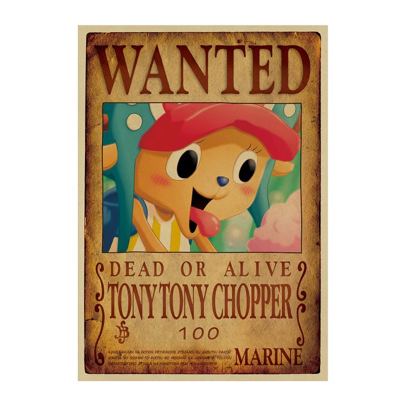 Affiche Wanted One Piece Tony Tony Chopper 2