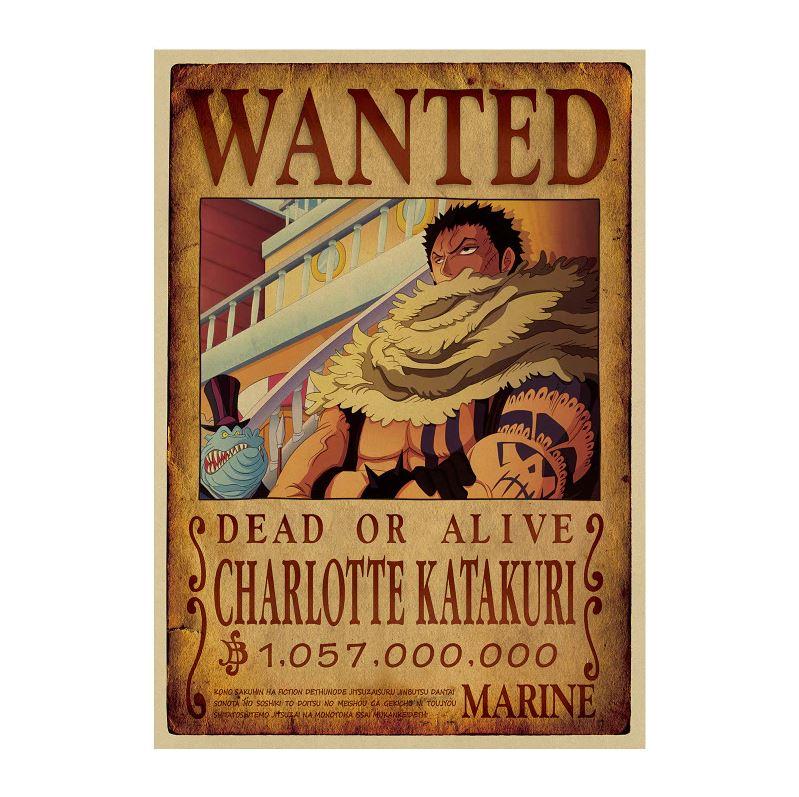 Affiche Wanted One Piece Charlotte Katakuri