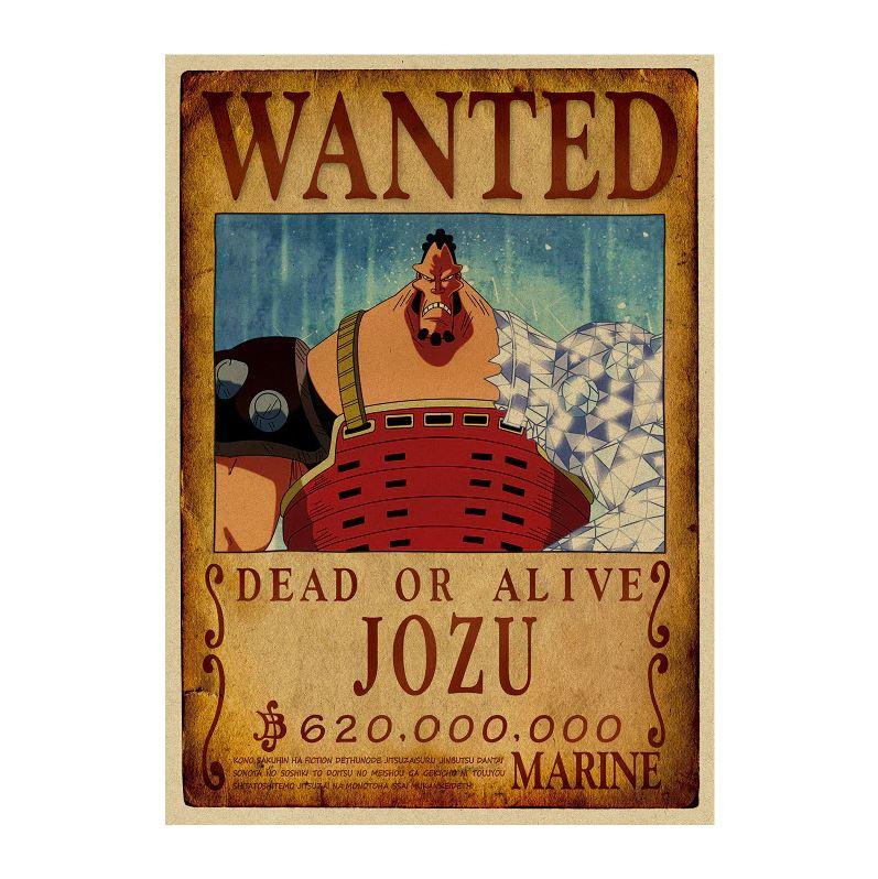 affiche wanted avis de recherche jozu one piece