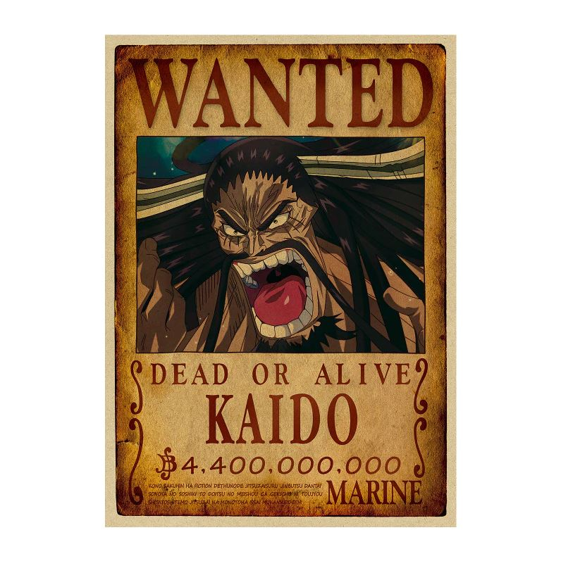 Affiche Wanted One Piece Kaido