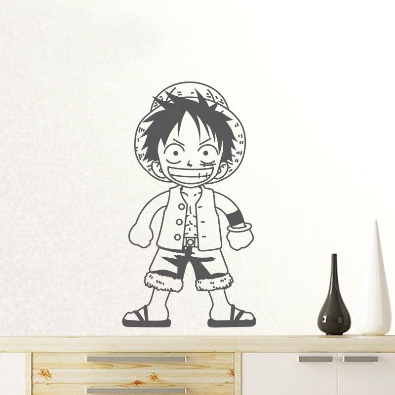 Sticker Mural One Piece Luffy Kid 2