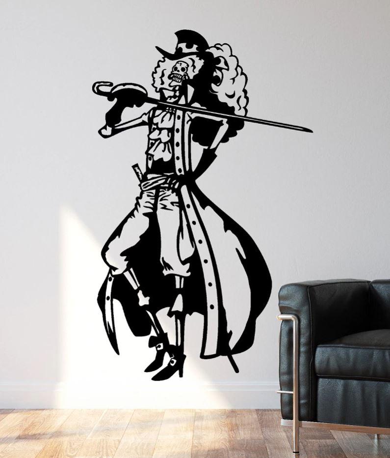 Sticker Mural One Piece Brook