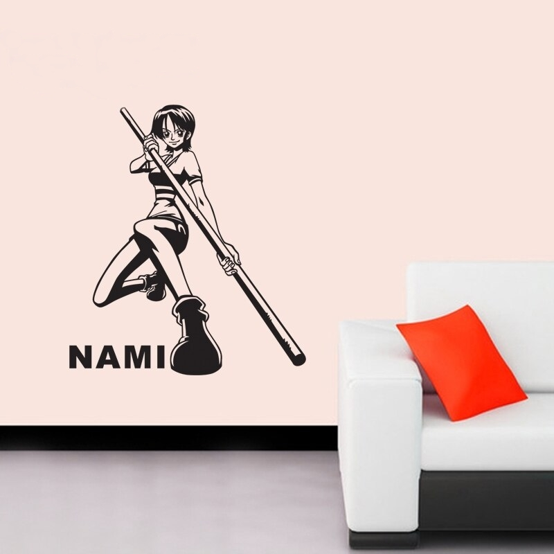 stickers mural nami 2 one piece 3