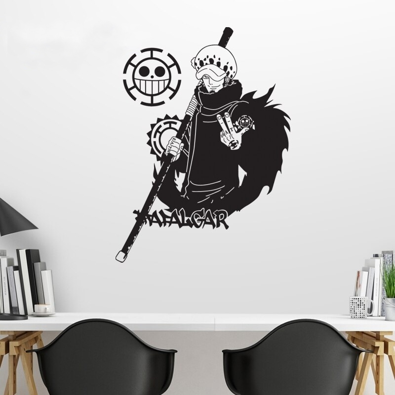 Sticker Mural One Piece Law 2