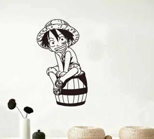 Sticker Mural One Piece Luffy Kid