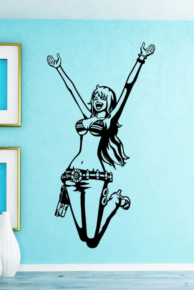 Sticker Mural One Piece Nami