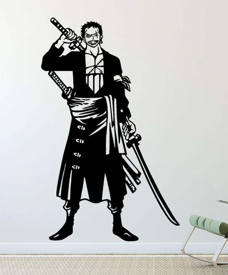 Sticker Mural One Piece Zoro
