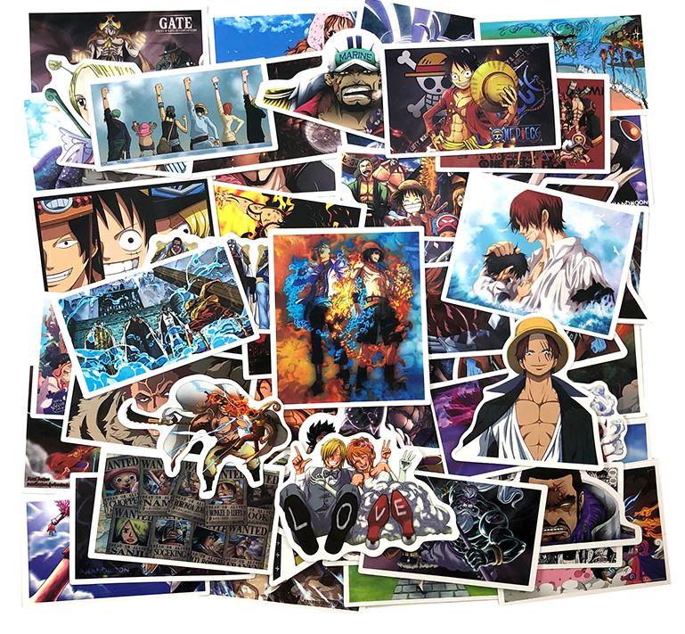 Autocollants One Piece Pack Landscape x100
