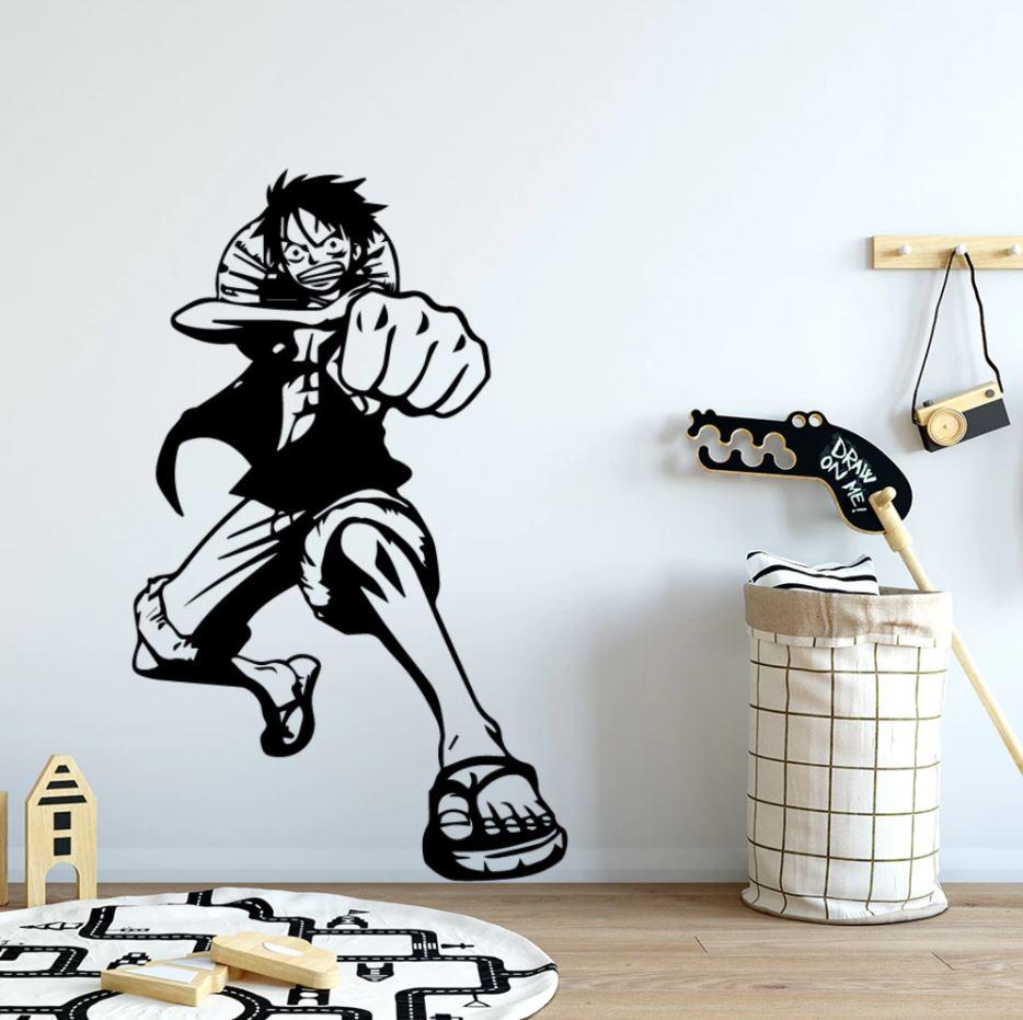 Sticker Mural One Piece Luffy