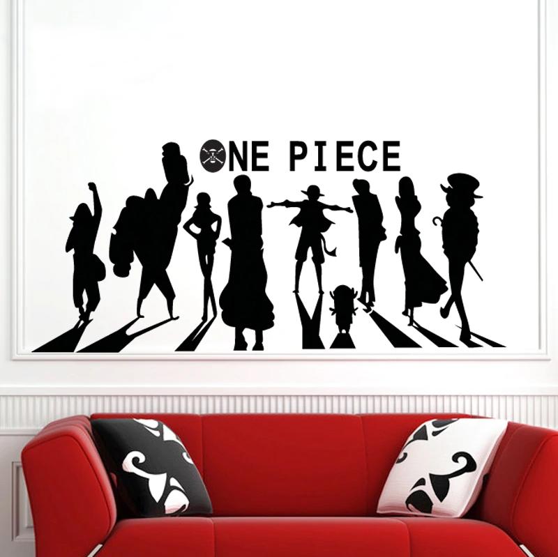 stickers mural mugiwara shadows one piece 2
