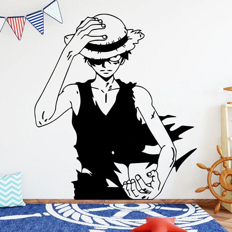 Sticker Mural One Piece Strawhat