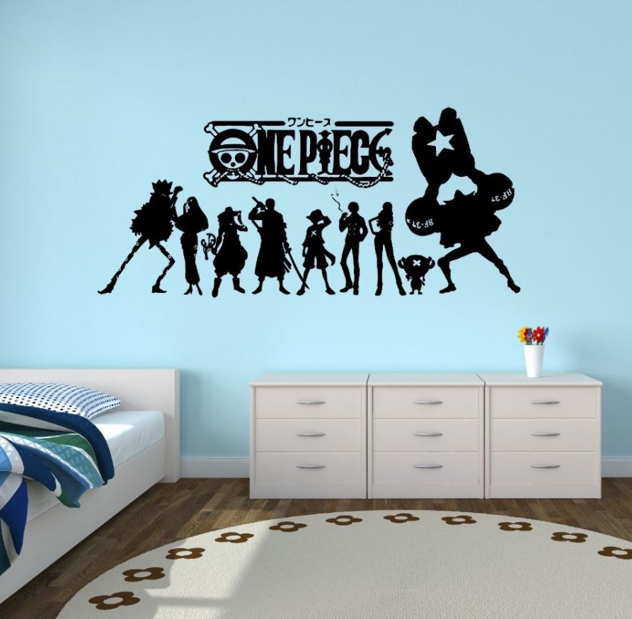 Sticker Mural One Piece Mugiwara Shadows 2