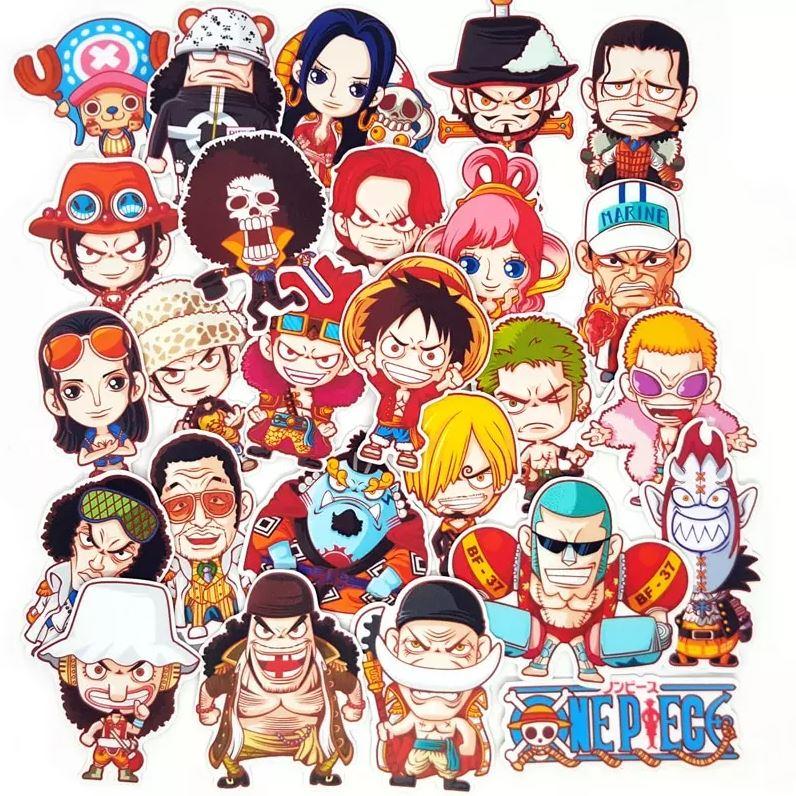 Autocollants One Piece Pack Animation x26