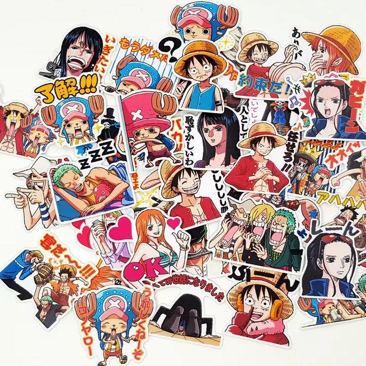 Autocollants One Piece Pack Japon 1 x40