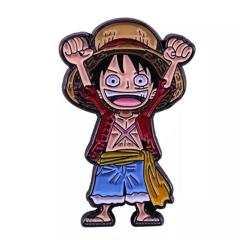 Broche One Piece Luffy