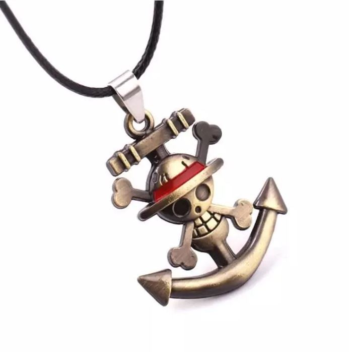 collier ancre one piece 1