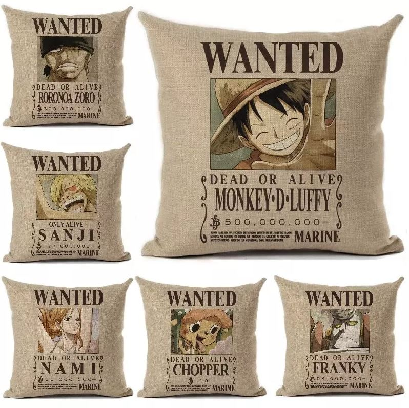 Taie d\'oreiller One Piece Wanted