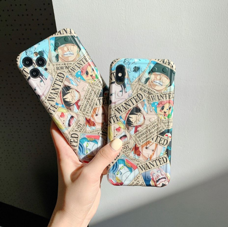 Coque iPhone One Piece Wanted