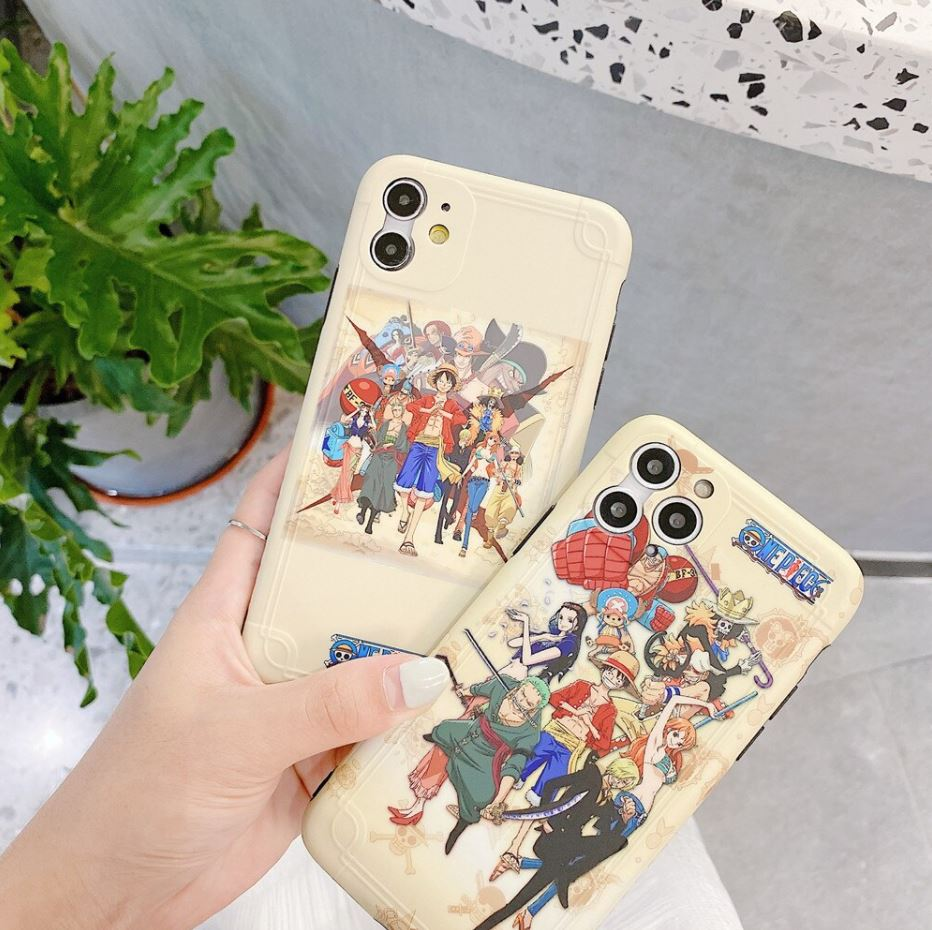 Coque iPhone One Piece Mugiwara