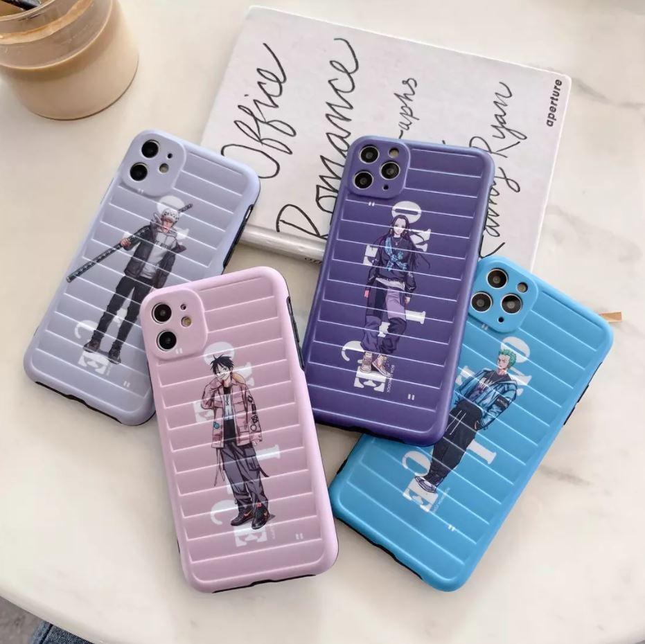 Coque iPhone One Piece Pastel Streetwear