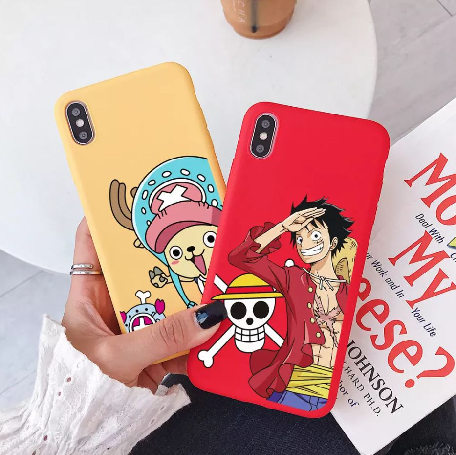 Coque iPhone One Piece Candy