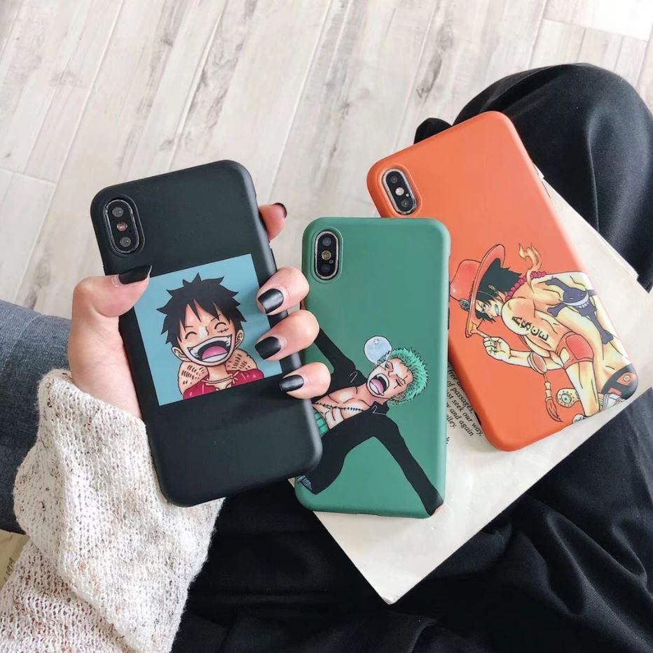 coque iphone one piece capa luffy zoro ace 1