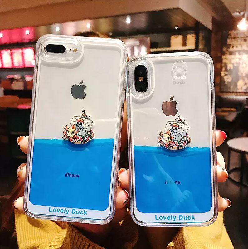 Coque iPhone One Piece Ocean Sunny