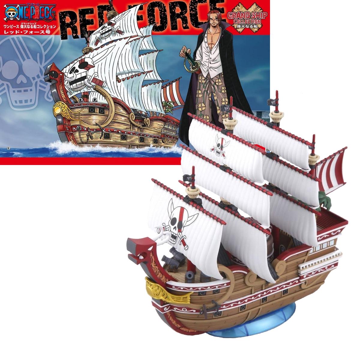 Figurine One Piece Navire Shanks