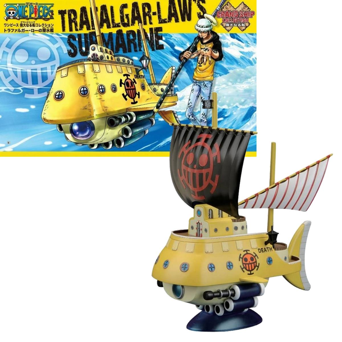figurine one piece navire trafalgar law
