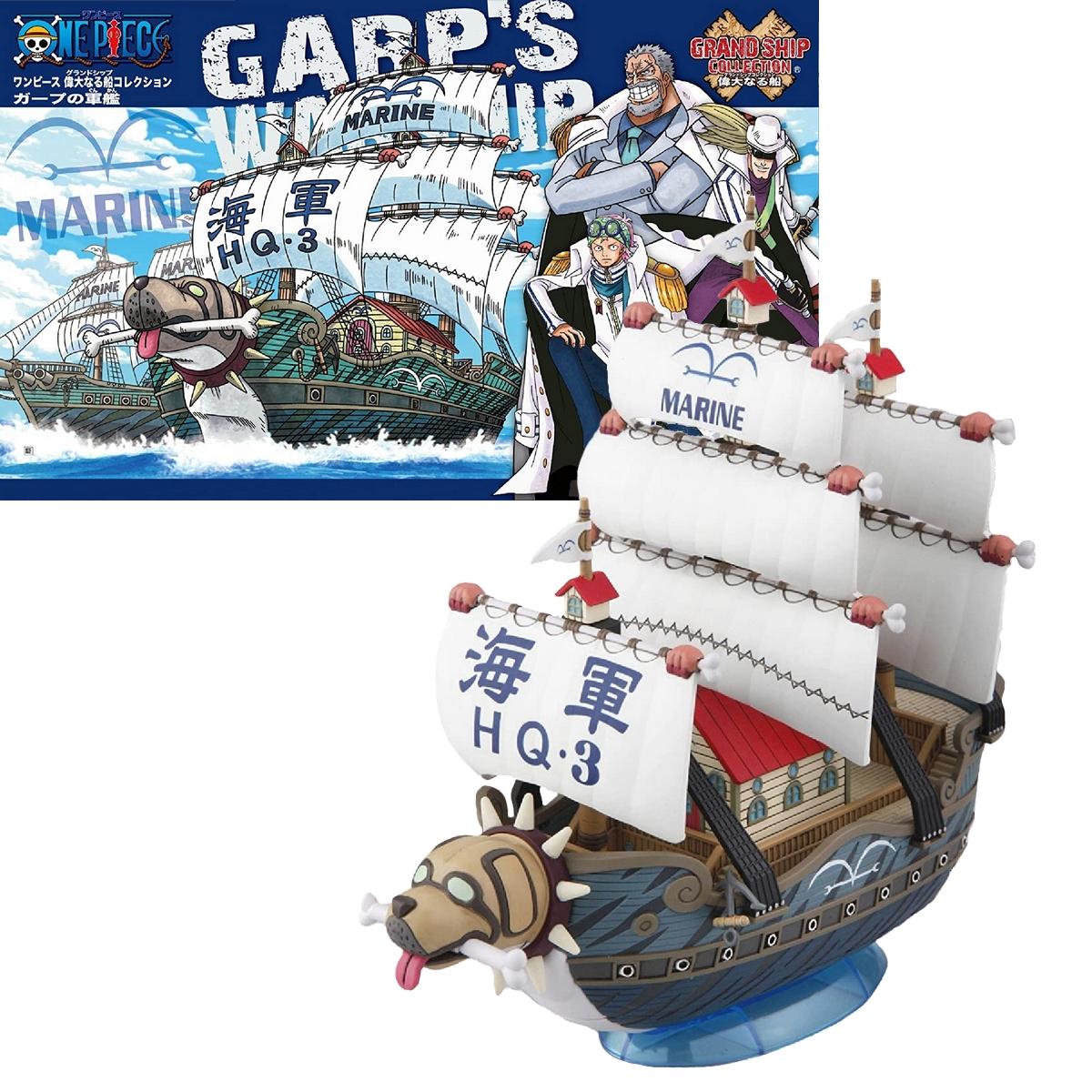 Figurine One Piece Navire Garp