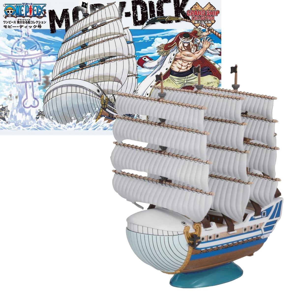Figurine One Piece Navire Barbe Blanche